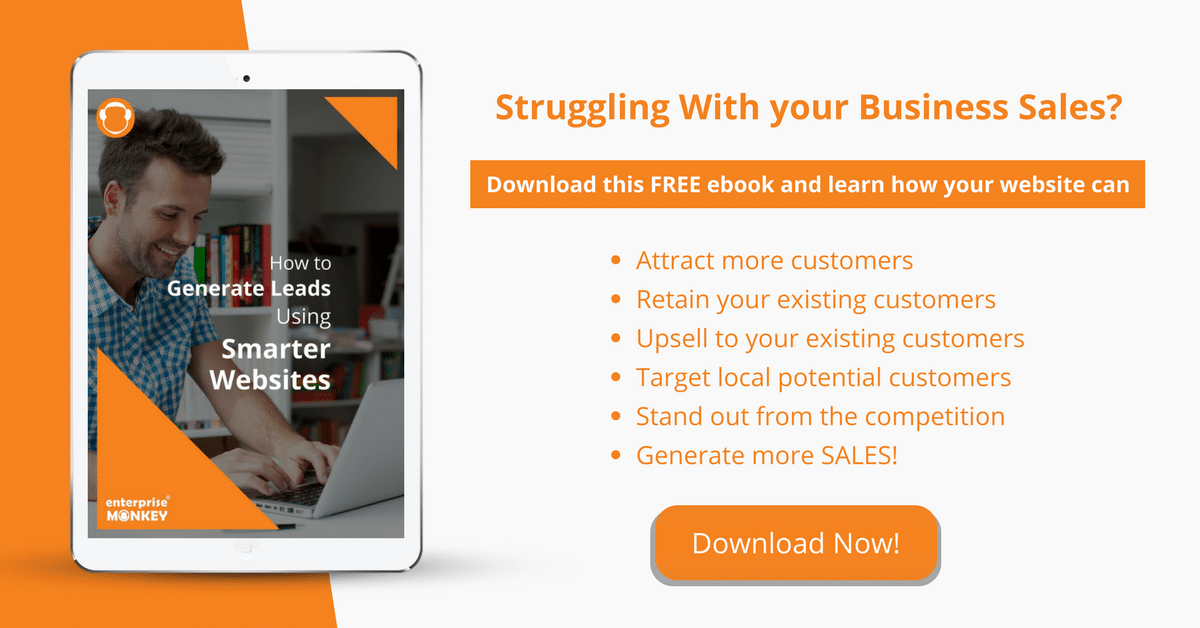 Download this FREE ebook & generate more leads through your Website