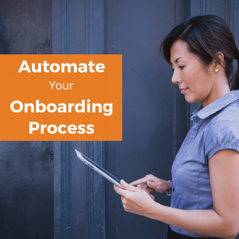 automate onboarding process