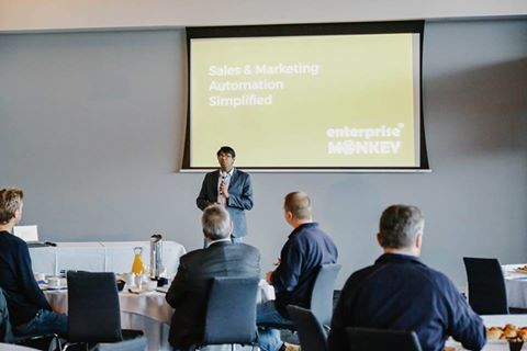 Sales and marketing automation event