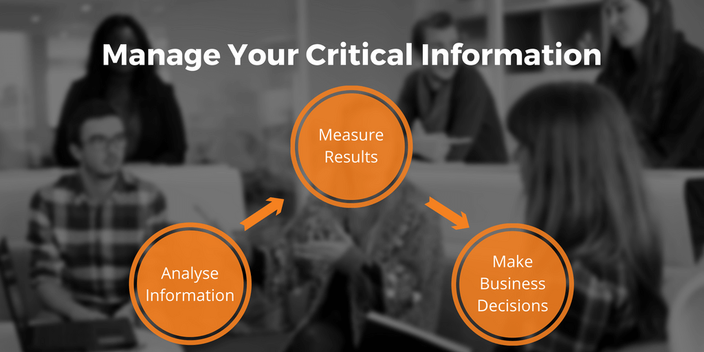 Manage your critical information