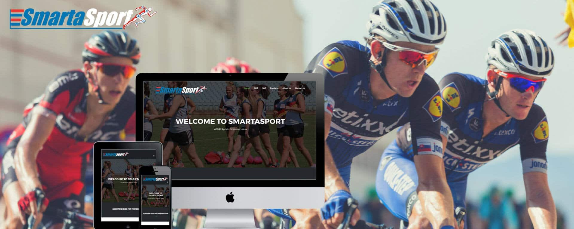 Smartasport website design