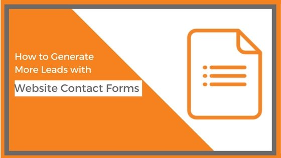 Leads with contact forms