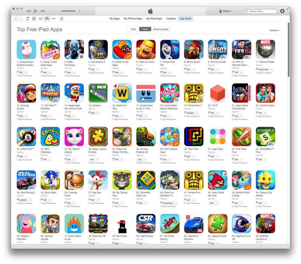 Top App Charts