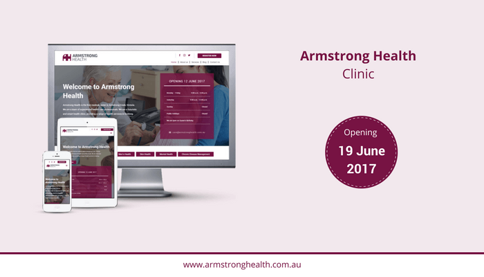 Armstrong Health Clinic website live now