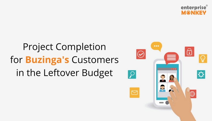 Project Completion for Buzinga's Customers in the Leftover Budget