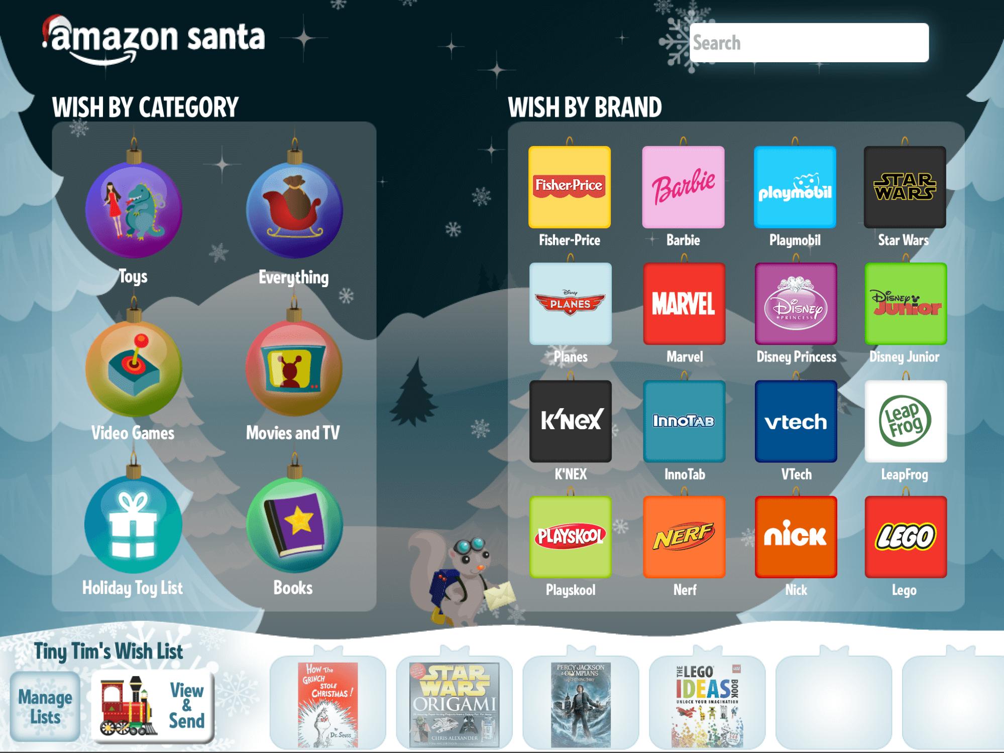 Amazon Christmas Wishlist