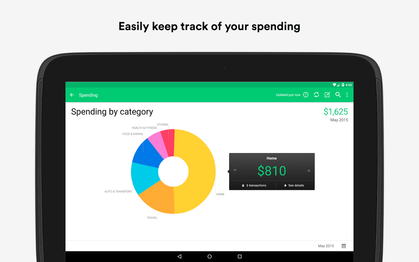 Keep Track of your Spending