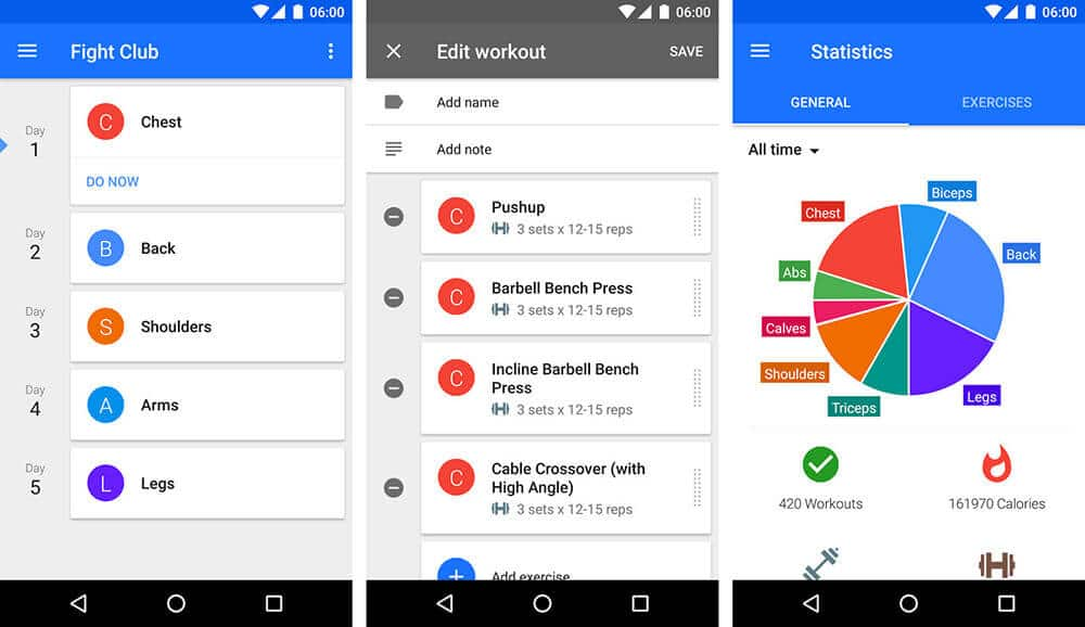 Mobile App Personified as Gym Trainer
