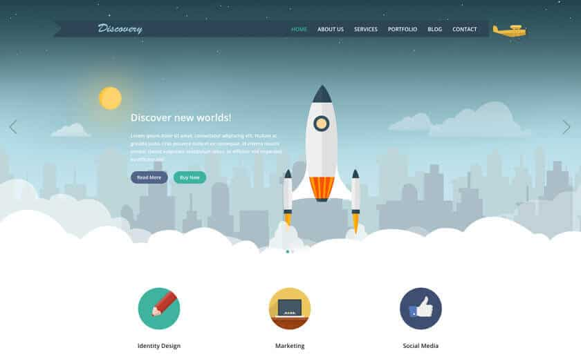 Discovery Theme WordPress