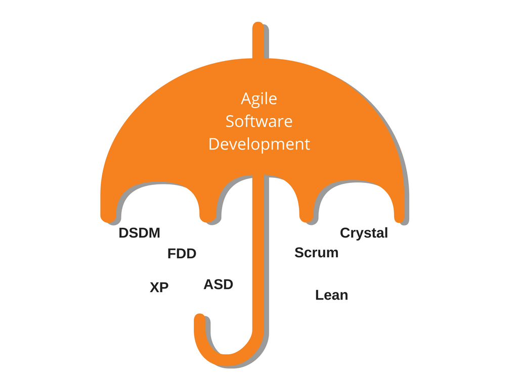 7 Methodologies That Come Under Agile Development Umbrella