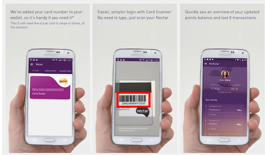 Nectar App Barcoding Feature