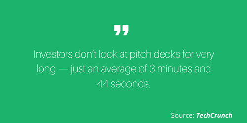 Tech Crunch Pitch Deck Quote