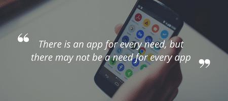 App quote