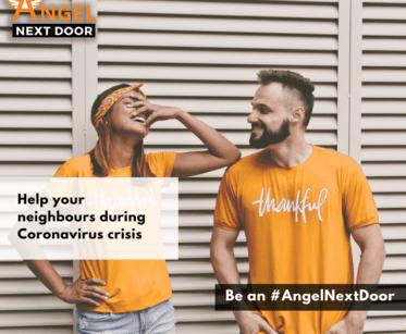 Angel Next Door website helps neighbours help each other #AngelNextDoor