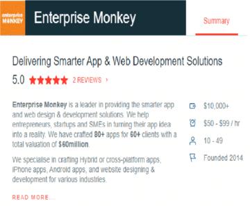 Enterprise Monkey Hailed as Australia's Leading AngularJS Developer