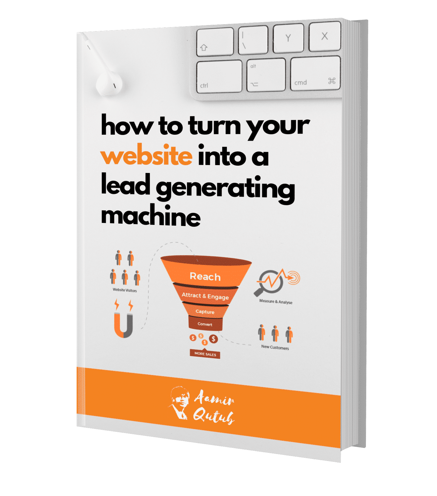 how to turn your website into a lead generating machine